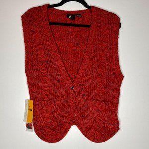Vintage Lizsport Sweater Vest